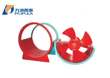 Steel Material Axial Flow Ventilation Fans , 24 Inch Industrial Exhaust Fan